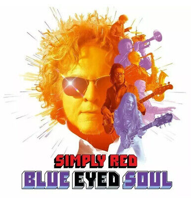 Simply Red Blue Eyed Soul CD Brand New & Sealed 2019 Cardboard Case