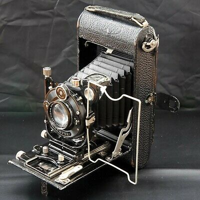 Antique Vintage Voigtlander Ica Folding Film Camera