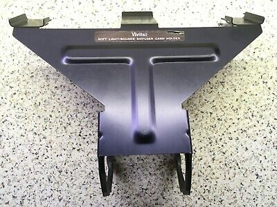Vivitar Soft Light Bounce Diffuser Card Holder - Excellent Used Condition