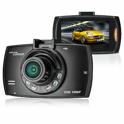"""HD 1080P 170° Angle Car Van Dash Cam DVR Recorder 2.4"""" Video LCD With Camer K2Y9"""
