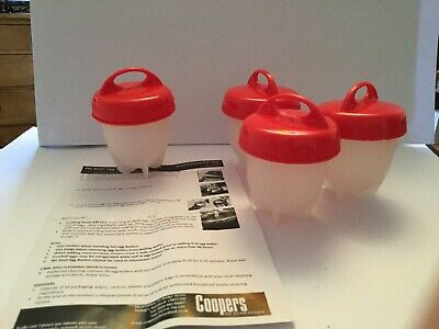 No shell egg boilers silicone from Coopers of Stortford