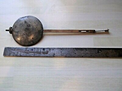 A Victorian Fusee Pendulum For Sale...weighs Just Under 1 Kilo.