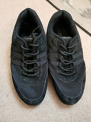 Roch Valley Black Dance Trainers Size 5
