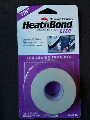 Thermoweb Heatn Bond Lite Iron-on Adhesive-7//8 X15 Yards