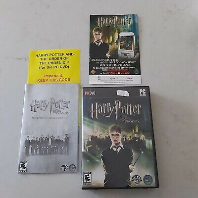 TESTED Harry Potter and the Order of the Phoenix PC DVD GAME 2007