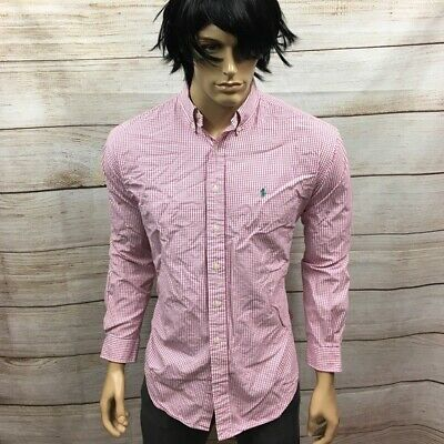 Men's Polo Ralph Lauren Preppy Designer Shirt L #A3 BF88