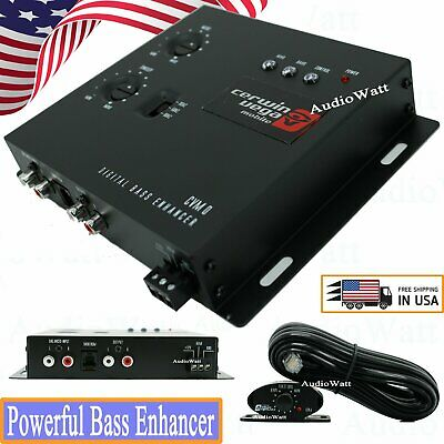 Cerwin-Vega CVM0 Digital BASS Booster Epicenter BX10 W Remote Bass Knob Control