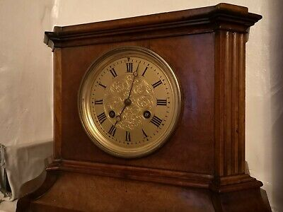 Beautiful Antique French 8 Day Striking clock by Billet and Roblin of Paris
