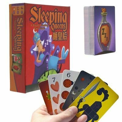 NEW SLEEPING QUEENS Card Game - Interactive Family Fun - Ages 8+