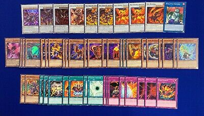Yu-Gi-Oh! Complete Jack Atlas Red Dragon Archfiend Deck Scarlight Abyss Bane