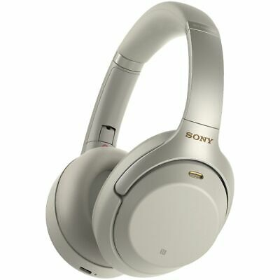 Sony Wireless Noise-cancelling Headphones Silver WH1000XM3