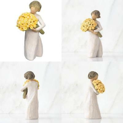 Willow Tree Ornament Good Cheer Figurine Female Figure