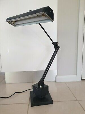 Vintage Draftsmans Lamp by Planet. Good working order. TFT Model - Twin Flouros