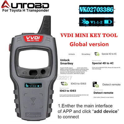 Xhorse VVDI Mini Key Tool For Chip Cloning and Remote Key Copying and Generation