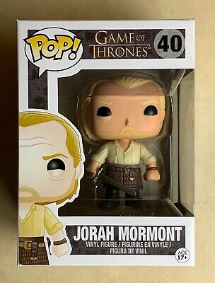 Funko POP Retired/Vaulted Jorah Mormont Game of Thrones Vinyl Figure #40