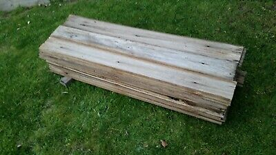 Old Hardwood Fence Palings Rare 140mm wide (45)