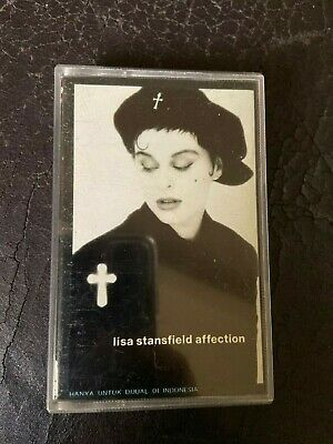 Lisa Stansfield affection cassette BMG 1989 VG R&B soul dance-pop new jack swing