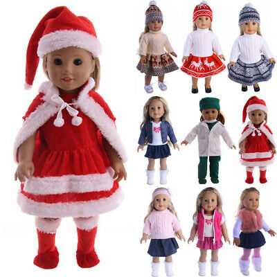 2020 Outfit Dress Clothes for 18'' American Girl Our Generation My Life Doll