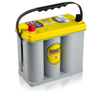 OPTIMA Yellow Top YTS-2.7L 12V/38Ah 460A AGM Zyklenfest, SPIRALCELL TECHNOLOGIE