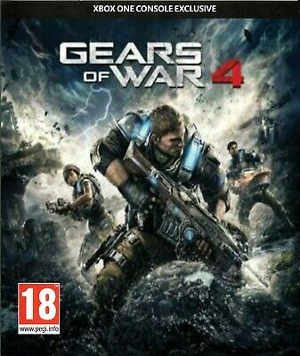 Gears Of War 4 - Xbox One - New Sealed - Same Day Dispatch - Physical Disc