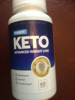 PUREFIT KETO ADVANCED WEIGHT LOSS DIET CAPSULES (60) 800mg DIETARY SUPPLEMENT