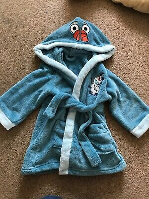 Olaf Dressing Gown Age 18-24 Months