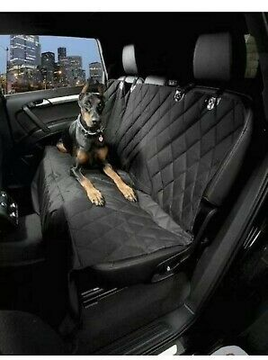 Heavy Duty Quilted Pet Dog Rear Seat Cover For Mercedes-Benz GLC 2015 onwards