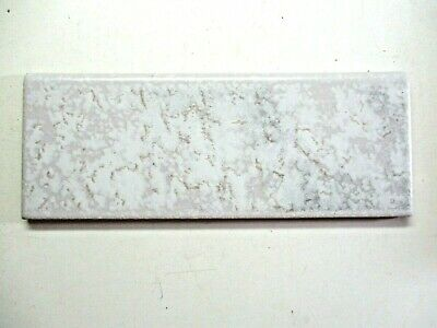 "1 Italy CLP Bullnose Porcelain Ceramic Wall Tile 7-7/8"" X 3"" Marbled Gray Beige"