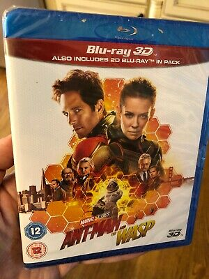 ANT-MAN AND THE WASP 3D / 2D Blu-ray -- SHIPS FROM US SELLER