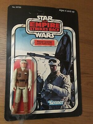 Star Wars Empire Strikes Back Rebel Soldier in Original Unopened Package 1980