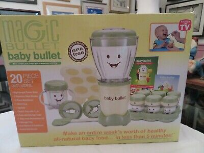Magic Bullet Baby Bullet 26 pc set