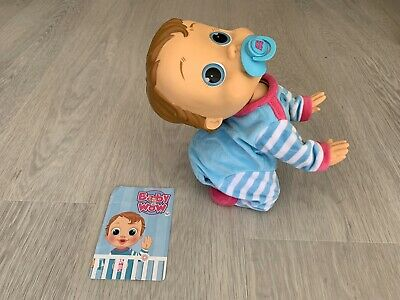 Baby WOW Crawl and Play Charlie Voice Activated Doll