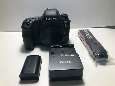 **MINT** Canon EOS 6D Mark II 26.2MP Digital SLR Camera