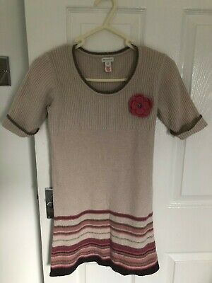 Gorgeous Girls age 10-12  Monsoon knitted  Cotton/ Viscose Dress