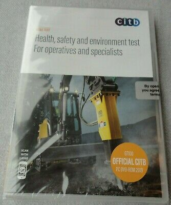 2019 CITB Health, Safety and Environment Test for Operatives and Specialists DVD