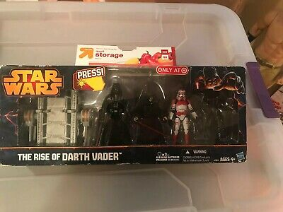 "Star Wars ""The Rise Of Darth Vader"" With Light-Up Lightsaber-Target Exclusive"