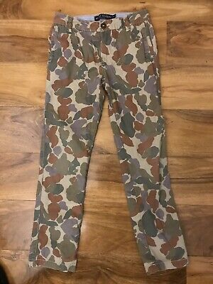 Mini Boden Boys Camouflage Trousers Age 8