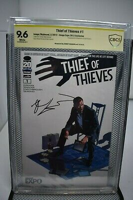 Thief of Thieves #1 Image EXPO Variant CBCS 9.6 Signed by Robert Kirkman NOT CGC
