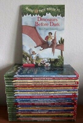 Lot Of 22 Magic Tree House Books By Mary Pope Osborne