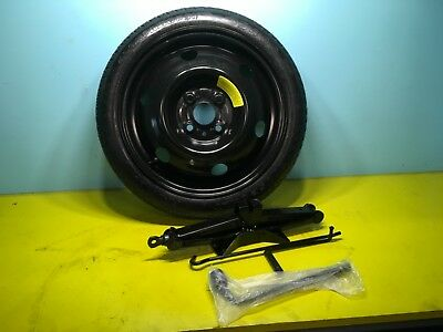 2012-2018 Hyundai Accent  Mini Donut Spare Tire With Jack Kit