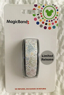 Disney 4 Park Icons MagicBand 2 LR All 4 Disney Parks Icons Magic Band 2 NEW