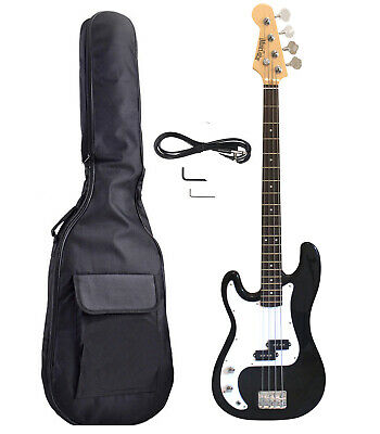 Left handed Bass Guitar Kit Gig Bag, Patch cord, Wrench iMEB807LFPK