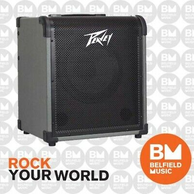 Peavey MAX100 Bass Guitar Amplifier 100w 1x10inch Combo Amp MAX 100 - Brand New