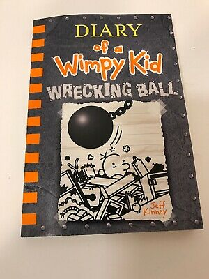 New Release Diary of a Wimpy Kid Wrecking Ball paperback book Jeff Kinney