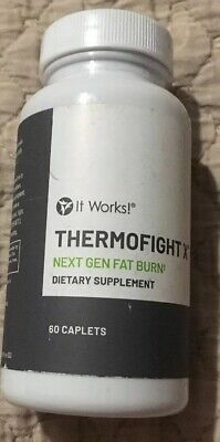 It Works! ThermofightX 60 Capsules Best By Date 06/2019