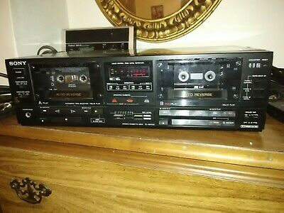 1988 Made in Japan Vintage Sony TC-WR750 Cassette Deck