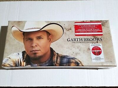 New!! GARTH BROOKS Ultimate Collection 10 Disc CD Box Set Gunslinger Country