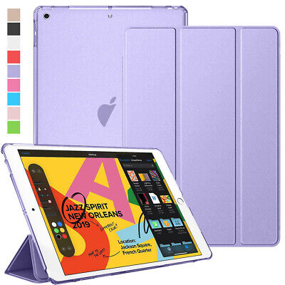 For iPad 7th Gen 10.2 2019 A2200 Magnetic Flip Defense Hybrid Smart Case Cover