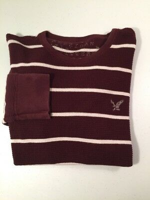 American Eagle AE Sweater Top Boys Teen Size Large Long Sleeve