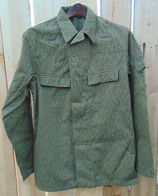 1960's East German Rain Camo Jacket U.S.Size L/S/R K52,very good used condition